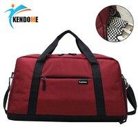 Unnisex Fitness Gym Bag FashionTravel Outdoor Shoulder Bags Handbag Tote Duffel Men Women Crossbody Shoes Storage Handbag Sport