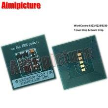 20K 106R01413 Toner Reset Chip For Xerox WorkCentre 5222 Toner Cartridge Chip 20pcs/lot