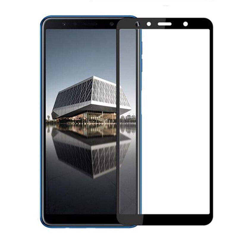 Verre de protection 3D pour Samsung Galaxy A7 2018 A750 A8 Plus A9 2018 verre trempé de protection décran pour Samsung A3 A5 A7 2017