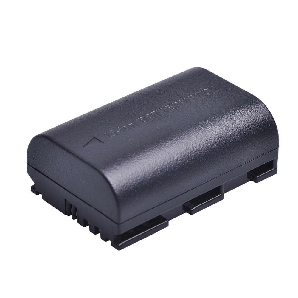 2pc 2650mah Lp E6 Lpe6 Lp E6 Lp E6n Rechargeable Li Ion Battery For Canon Eos 5ds R 5d Mark Ii 3 5d Mark Iii 6d 7d 60d 60da 70d Lp E6 Lp E6 Lpe6battery