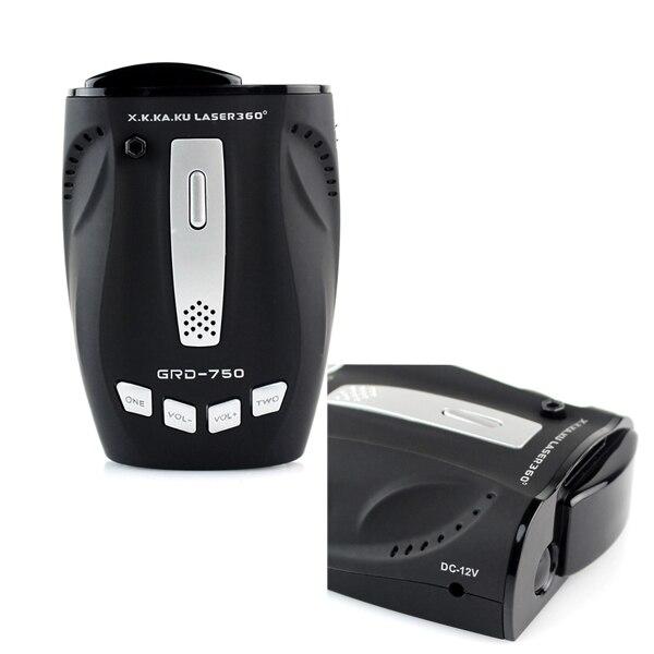 Détecteur de radar voiture Anti laser   Voiture, alerte vocale, vitesse, système dalarme, 360 degrés, mesure de détection, immunité ville route/autoroute