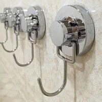 Ventouse amovible en acier inoxydable  porte-serviettes de douche  salle de bains  cuisine  porte murale  simple  Double  trois crochets