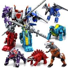 5 en 1 déformation jouet roi Kong dinosaure enfants assemblé tyrannosaure anime modèle déformé jouet