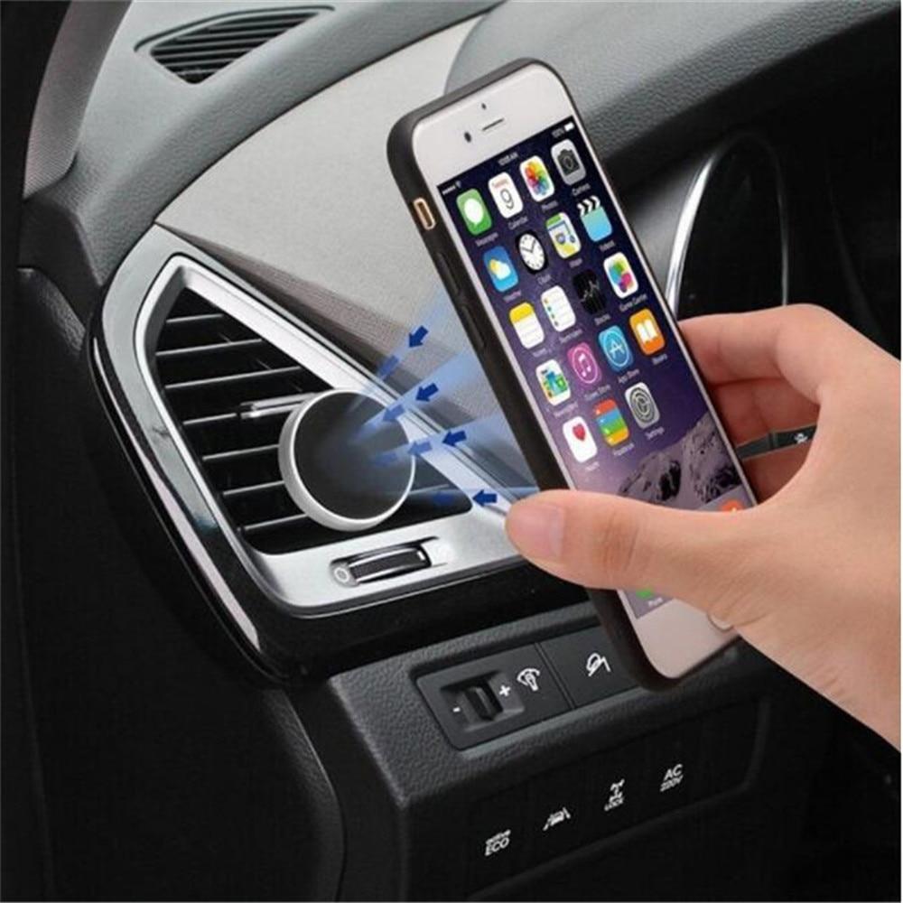 Hn 車磁気エアベントマウント携帯スマートフォンスタンドマグネットサポート携帯携帯電話デスクタブレット gps 自動車電話ホルダー