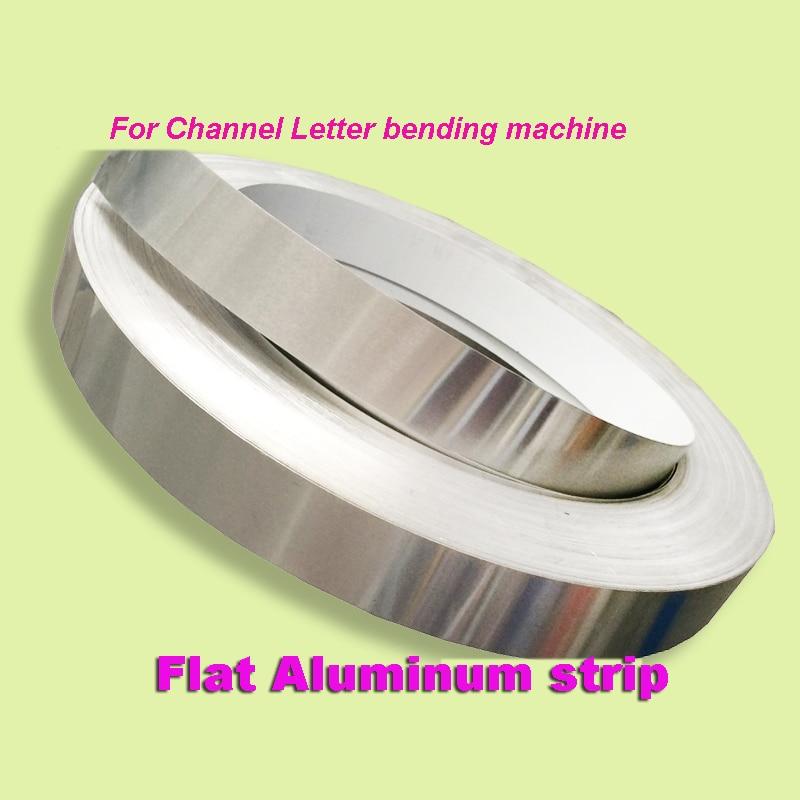 الألومنيوم شقة لافتات بحروف جذابة لفائف غطاء الكسوة ثلاثية الأبعاد مادة مضيئة الانحناء آلة نحى الفضة