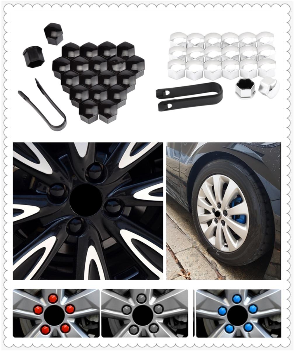 20pcs car wheel cover screw protector nut dustproof 17 19 21mm for Mercedes Benz AMG GT GLC GLE GLS R Class ML GL G R