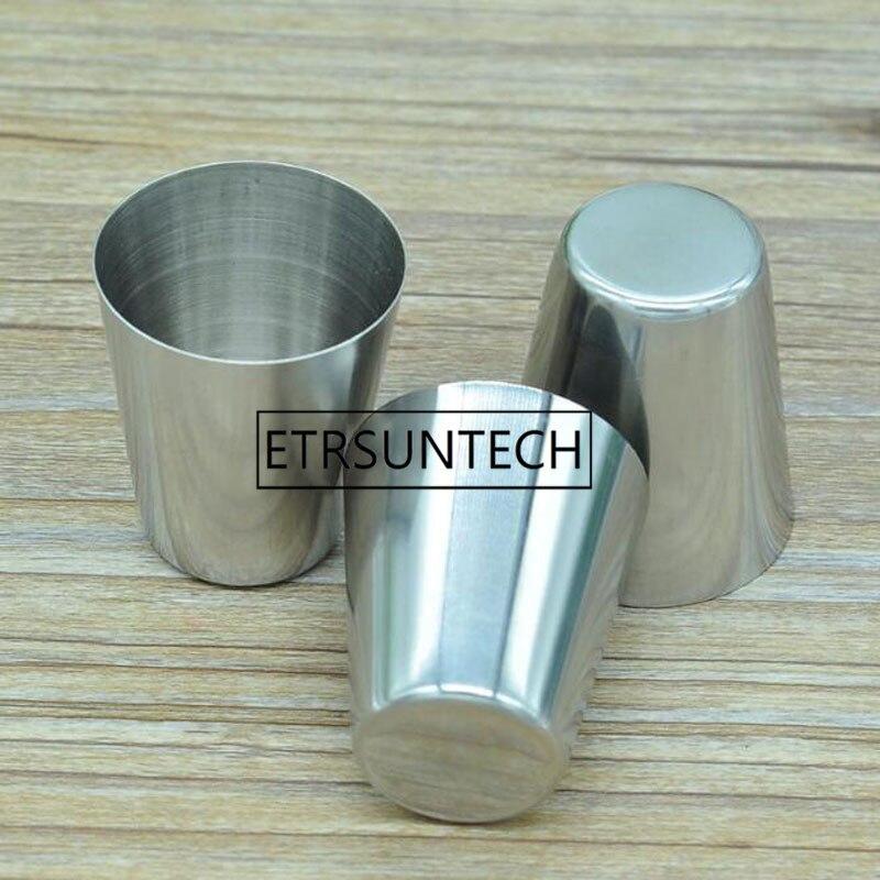 قارورة صغيرة من الفولاذ المقاوم للصدأ للويسكي ، زجاجة نبيذ محمولة 1 أونصة ، كوب سفر خارجي