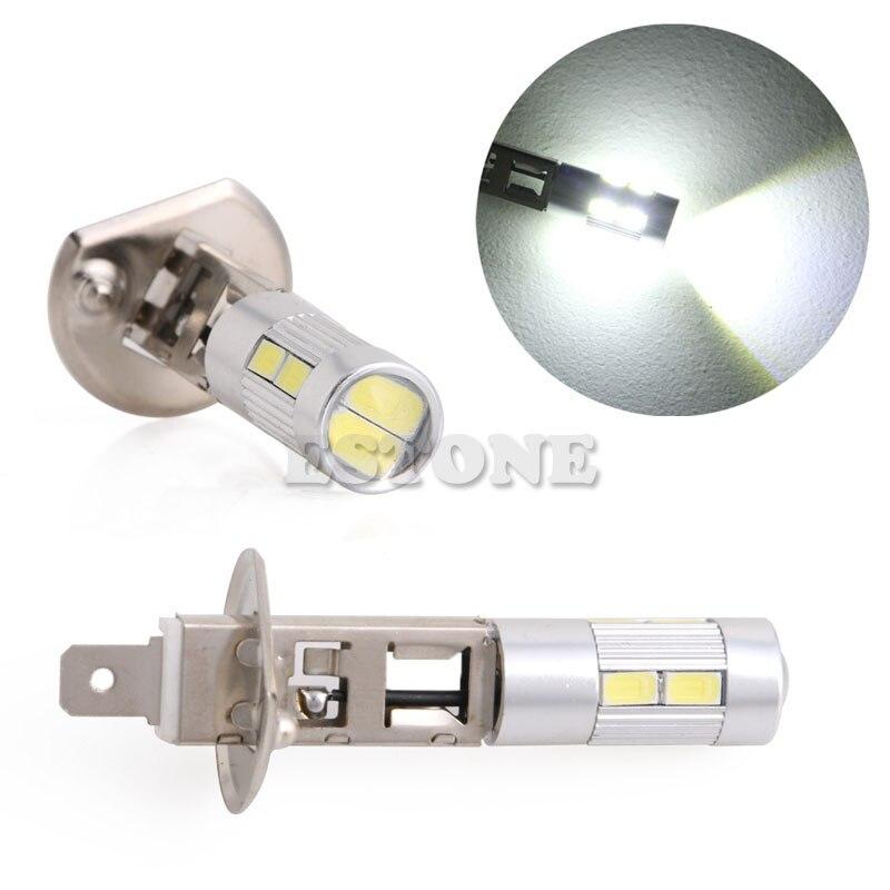 1 Uds nuevo foco SMD 5630 LED H1 Voiture los siguientes modelos Brouillard de la ampolla Phare DC 12V