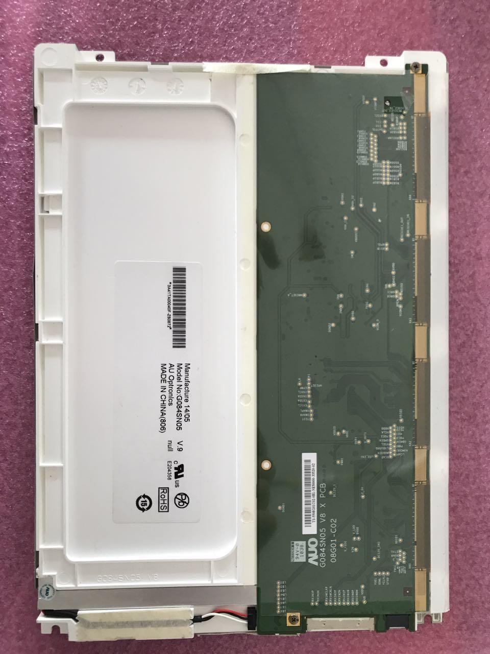 100% original AUO 8,4 zoll G084SN05 V.9 G84SN05 V.8 Breite temperatur LED industrielle bedienfeld AUO