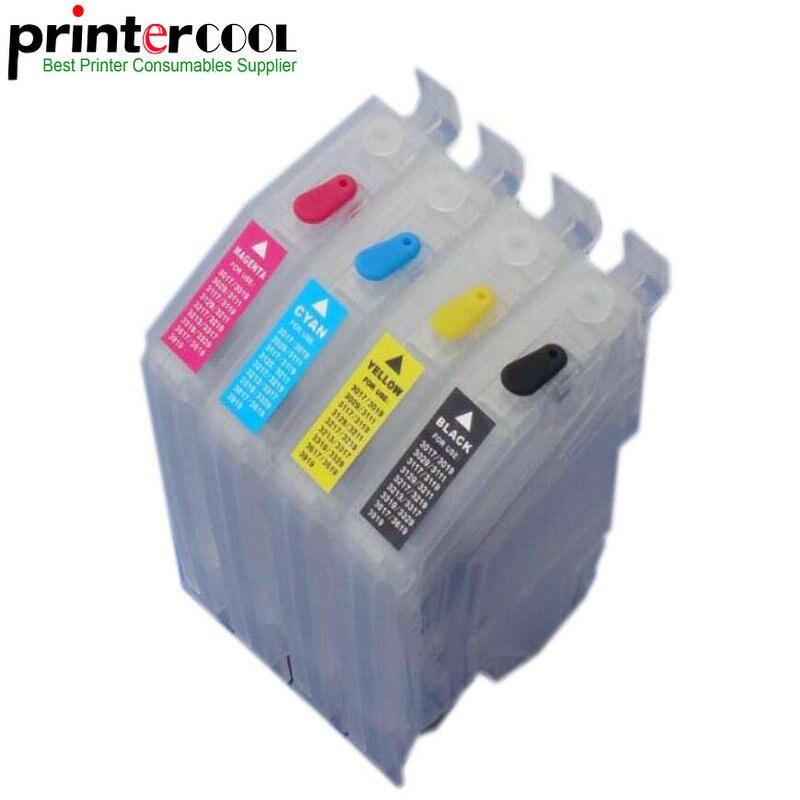 Cartucho de recarga de tinta vacío einkshop LC3219 LC3219XL, chip de una sola vez para Brother MFC-J5330DW MFC J5930DW J5335DW J5730DW 6530DW