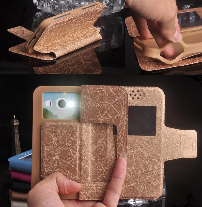 Funda BQ BQ-5012L Rich, carcasa trasera de silicona suave de cuero PU con tapa de lujo para teléfono móvil BQ BQ-5012L Funda Capa