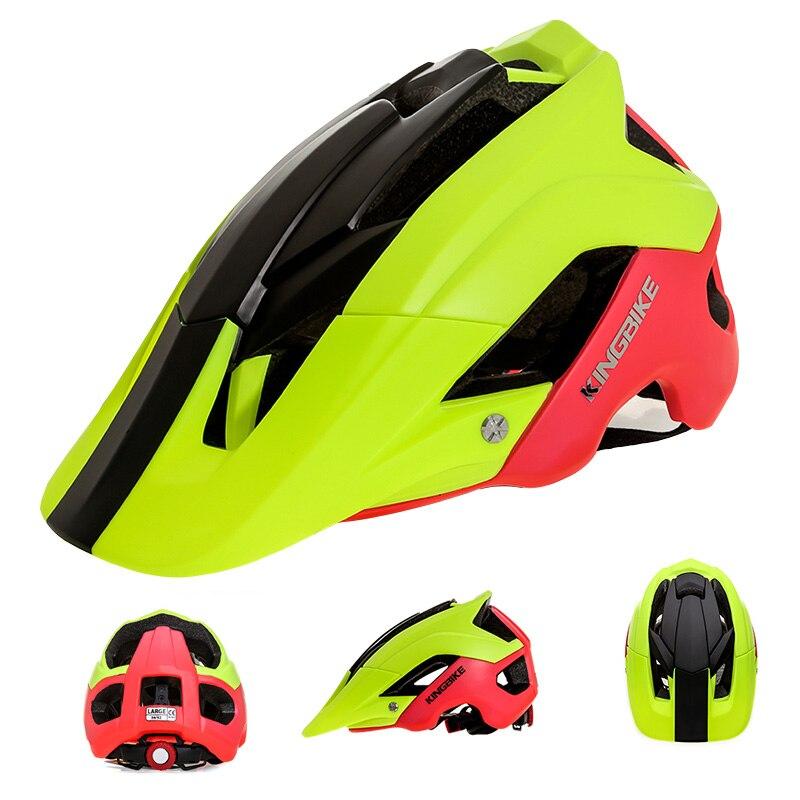 KINGBIKE-casco de bicicleta ultraligero para hombre y mujer, casco deportivo btt para...