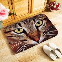 40x60 cm outdoor ingang deurmat leuke kat art foto print kleine tapijt voor slaapkamer keuken hal deurmat anti-slip deur mat
