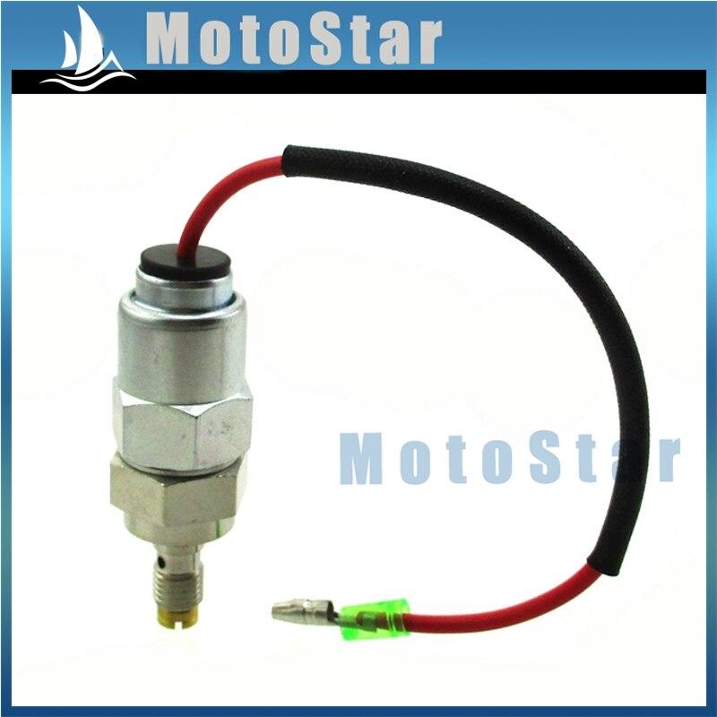 Solenóide de Combustível do carburador Kit Para Kohler 2475722-S 2404120-S 2404120 2475515 2475722 CV17-25 CV620-740