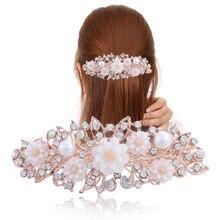 Barrette à cheveux en résine 6 couleurs   Barrettes fleuries, Barrette pour cheveux, Barrette pour cheveux, accessoires cadeau pour femmes et filles
