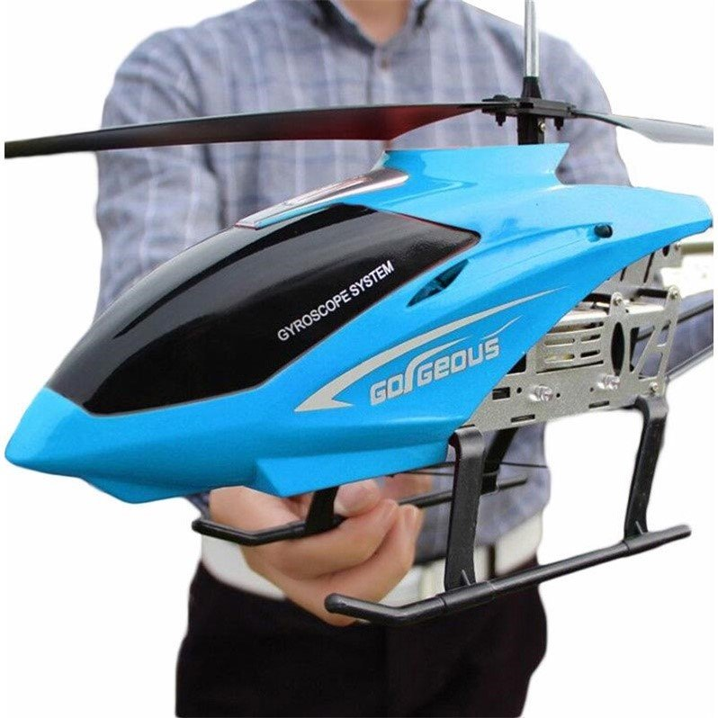 Free shipping Ultra Big 86cm Remote Control helicopter Anti-Fall toy helicopter model mini drones rc helicopter eachine kids toy enlarge