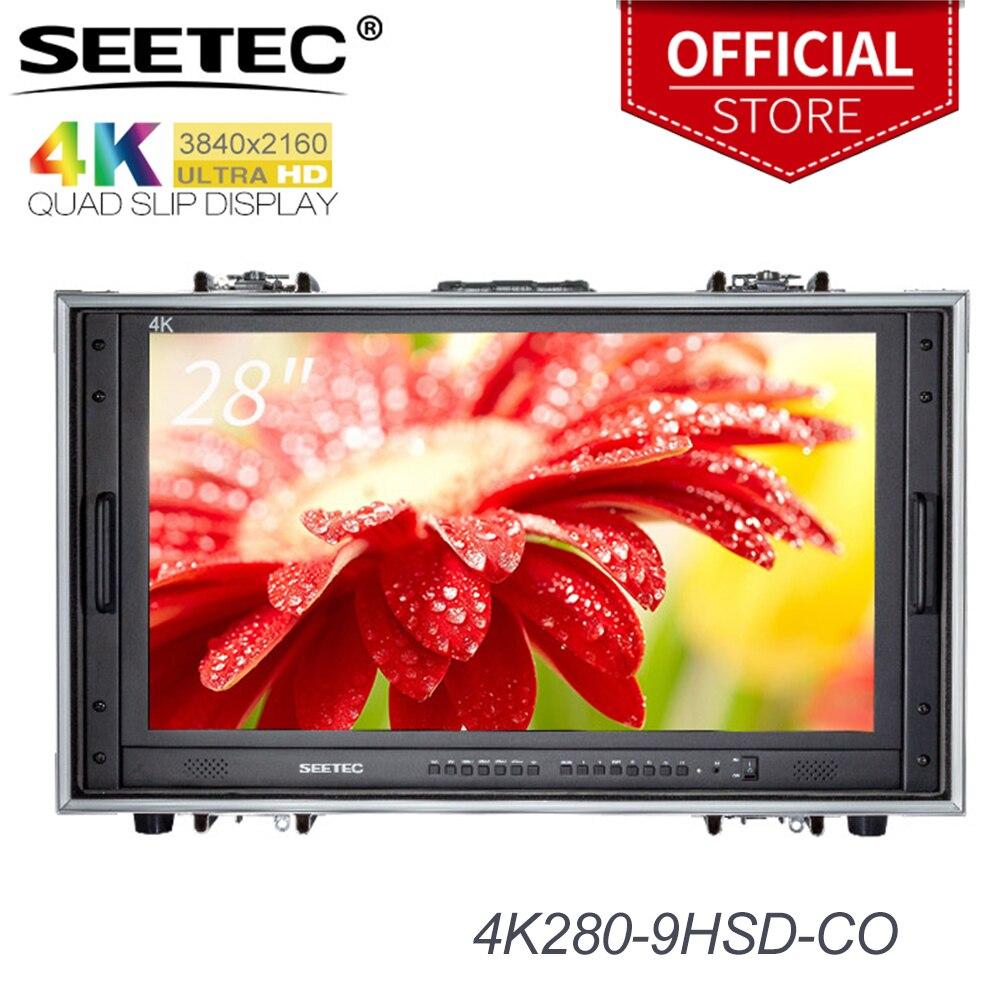 Seetec 4K280-9HSD-CO 28 Cal Monitor 4K do monitorowania CCTV tworzenie filmów Monitor LCD ultra hd do przenoszenia