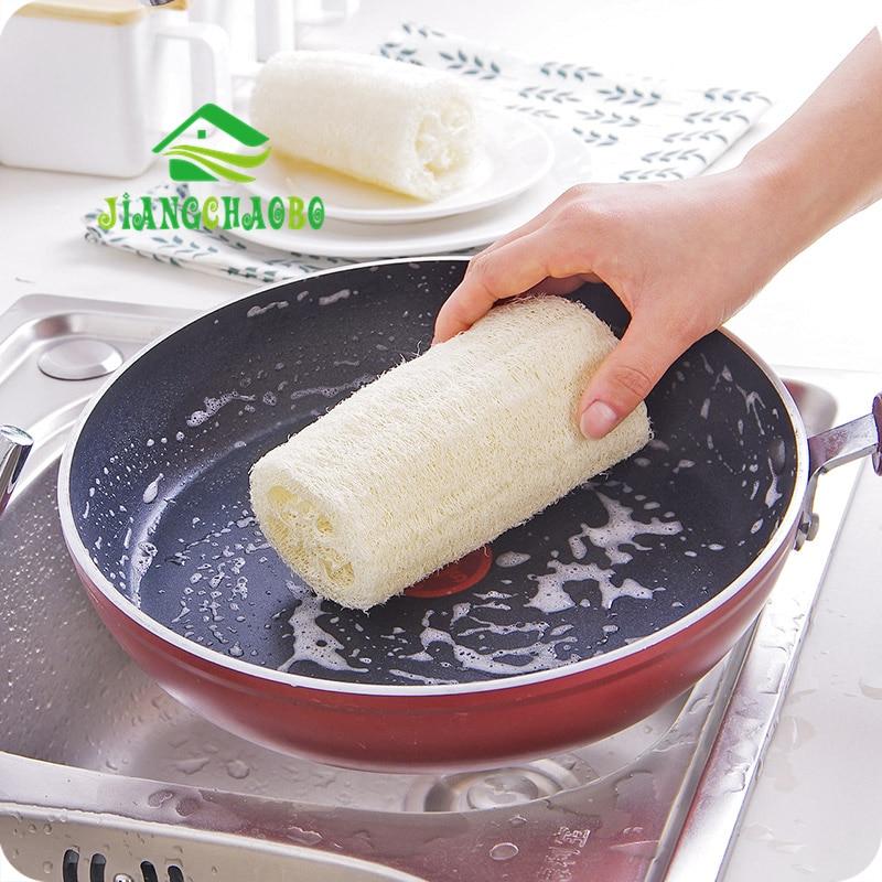 Esponja de ducha de baño JiangChaoBo Luffa Natural, esponja de Spa para eliminar la hornosidad del cuerpo, esponja de masaje de baño