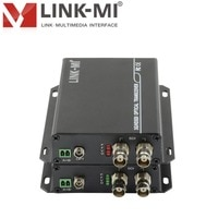 LINK-MI SF01 1 CH 3G/HD-SDI Extender מעל סיבים אופטי 20KM עם RS485 משדר/מקלט SDI סיבי Extender