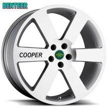Autocollant de jante de voiture 4 pièces pour MINI Cooper One S Countryman R60 Paceman R61 F55 F56 R56 R50 R53