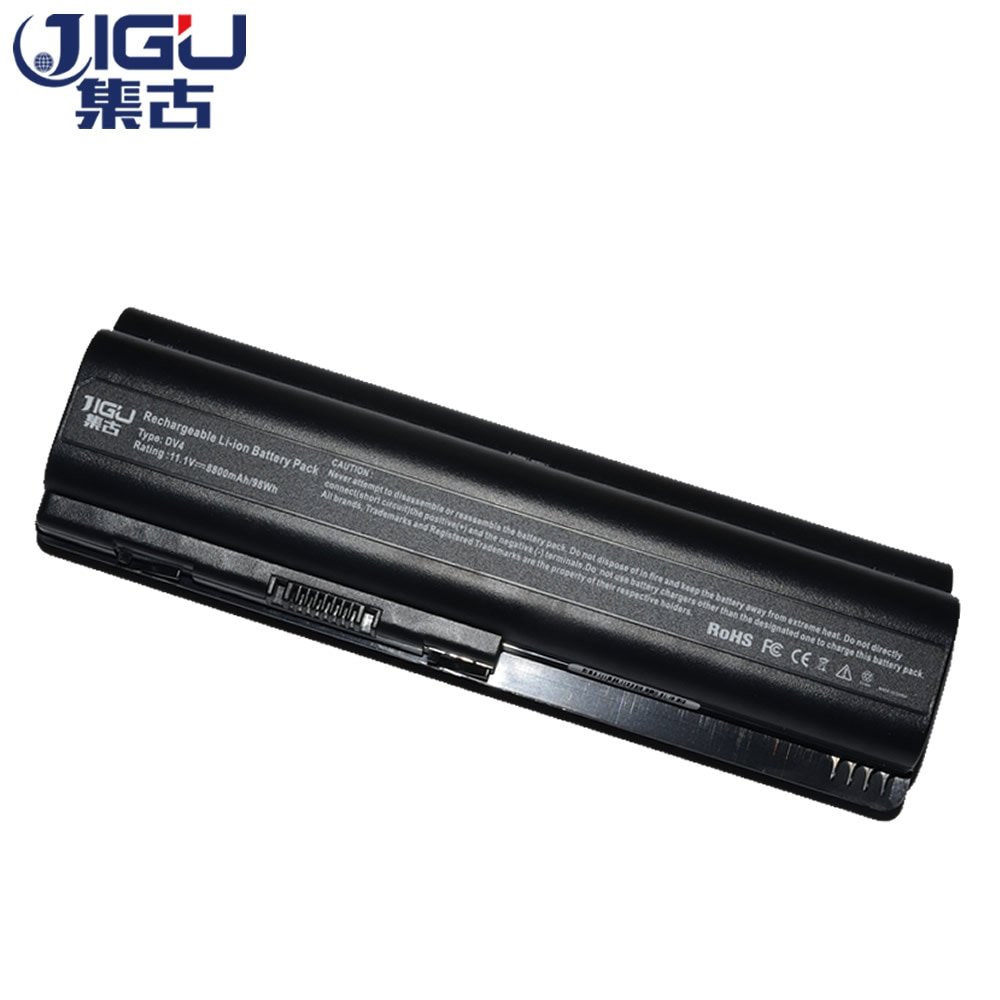 JIGU batterie dordinateur portable Pour HP Pavilion DV6 DV6-1100 DV6-2100 DV6t DV6t-1000 DV6z-1000 484170-001 484170-002 484171-001 HSTNN-IB72