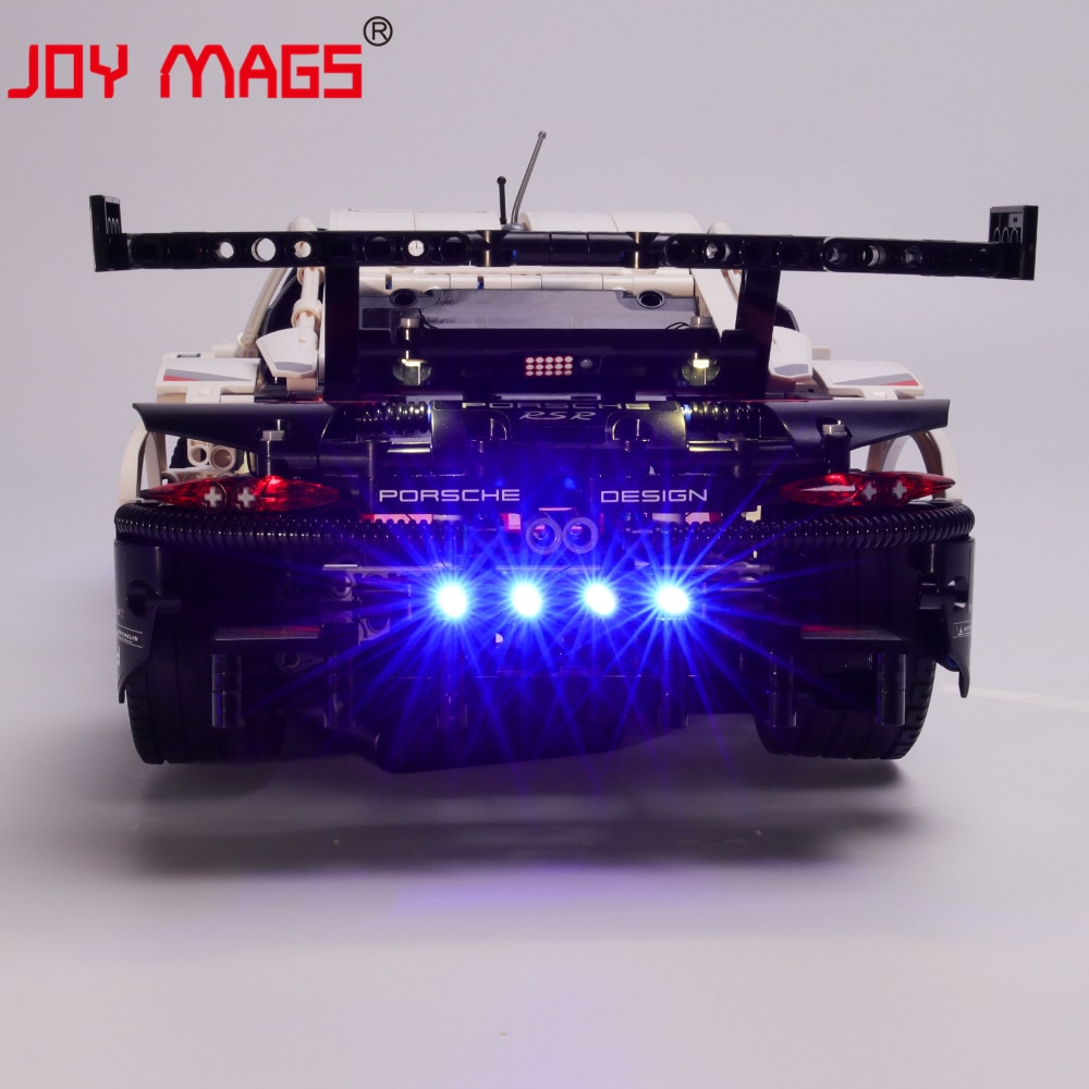 Купить с кэшбэком JOY MAGS Only Led Light Kit For 42096 Compatible With 20097 38057 11171 , (NOT Include CAR Model)
