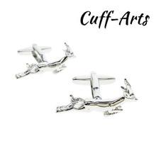 Cufflinks for Mens Springbok Cufflinks Silver Shirt Cuff links Gifts for Men Gemelos Les Boutons De Manchette by Cuffarts C10262