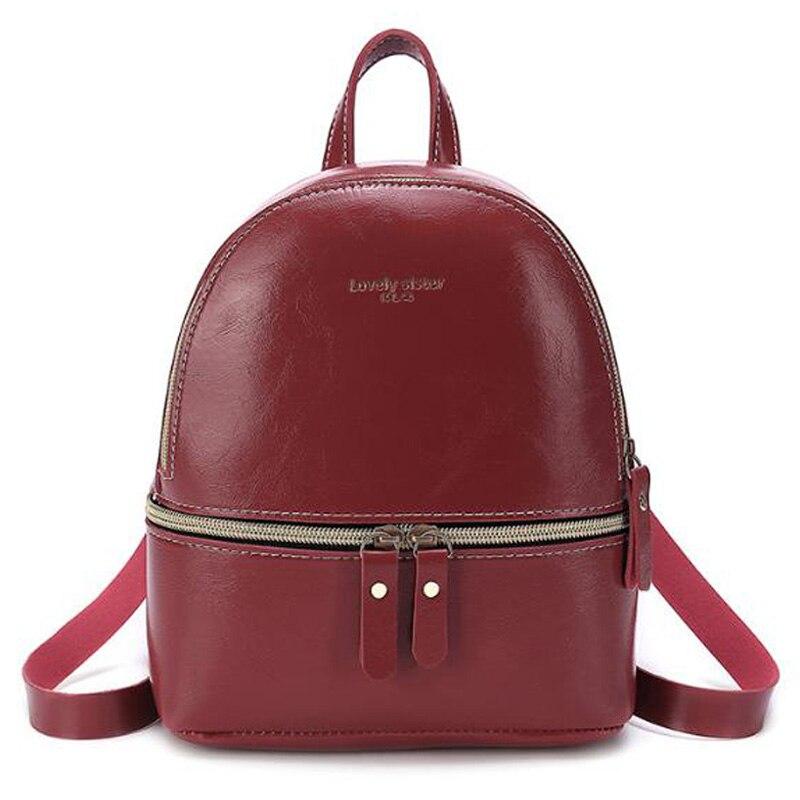 Pu Backpack Single Shoulder Diagonal Hand Bag Small Bag Fashion Trend Bag