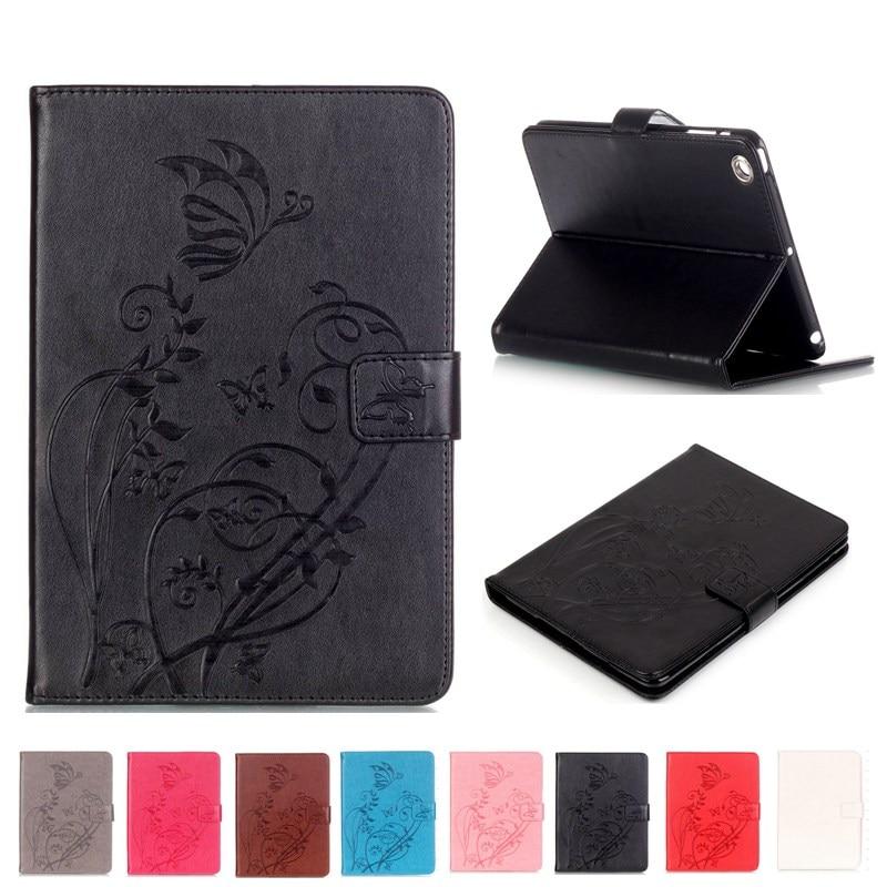 Inteligente PU cuero funda para iPad Mini tableta amortiguador Tech accesorio beige Rojo Negro compruebe Tartan tableta amortiguador A1432/1454/1600/1490 caso Protector cubierta para mini 123 de 7,9 pulgadas + regalo