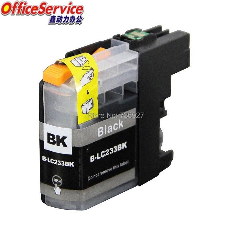 5 черный для LC233 совместимый чернильный картридж LC 233 для Brother DCP-J562DW DCP-J4120DW MFC-J4620DW струйный принтер