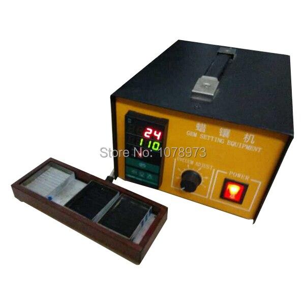 220 V nuevo concepto de joyería de alta potencia máquina de ajuste de piedra al vacío de diamante máquina de calentamiento rápido