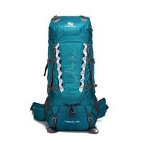 Camping Hiking Backpacks 80L Lifting bracket Outdoor Bag Backpack Nylon superlight Sport Travel Bag Aluminum alloy waterproof