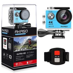 Akaso ek7000 câmera de ação ultra hd 4 k wifi 1080 p/60fps 2.0 lcd 170d lente capacete cam à prova dwaterproof água pro câmera esportiva