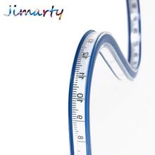 1pc 30/40/50/60cm Flat spline Arc curve ruler sleeve cloth tool Plotting soft feet Foot snake for  Engineering drawing DM021