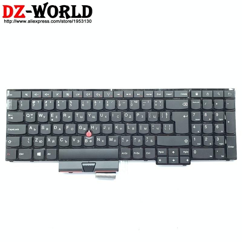 BG nuevo/Orig Teclado búlgaro para Lenovo Thinkpad E530 E530C E535 E545 Teclado 04Y0308 04Y0271 0C01707