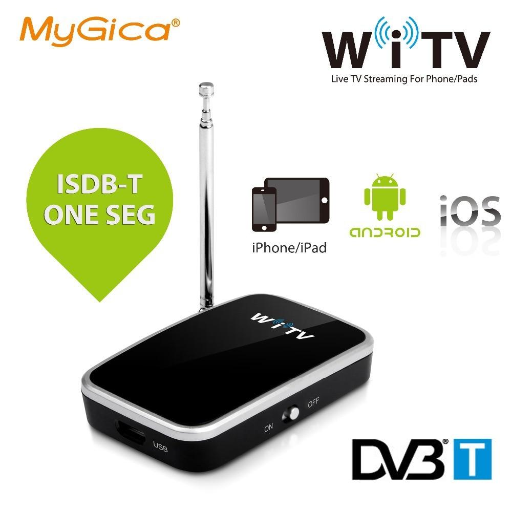 ТВ-тюнер isdb-t dvb-t Geniatech Mygica WiTV для iPad iPhone/Android устройств беспроводной ISDB T one seg WiFi ТВ-тюнер приемник