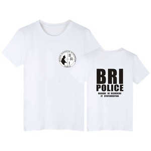 GIGN Gendarmerie Short Sleeve T Shirts Men Women Fashion Pop T-Shirt Summer Cotton Casual Hip Hop Male Female Tee Tops