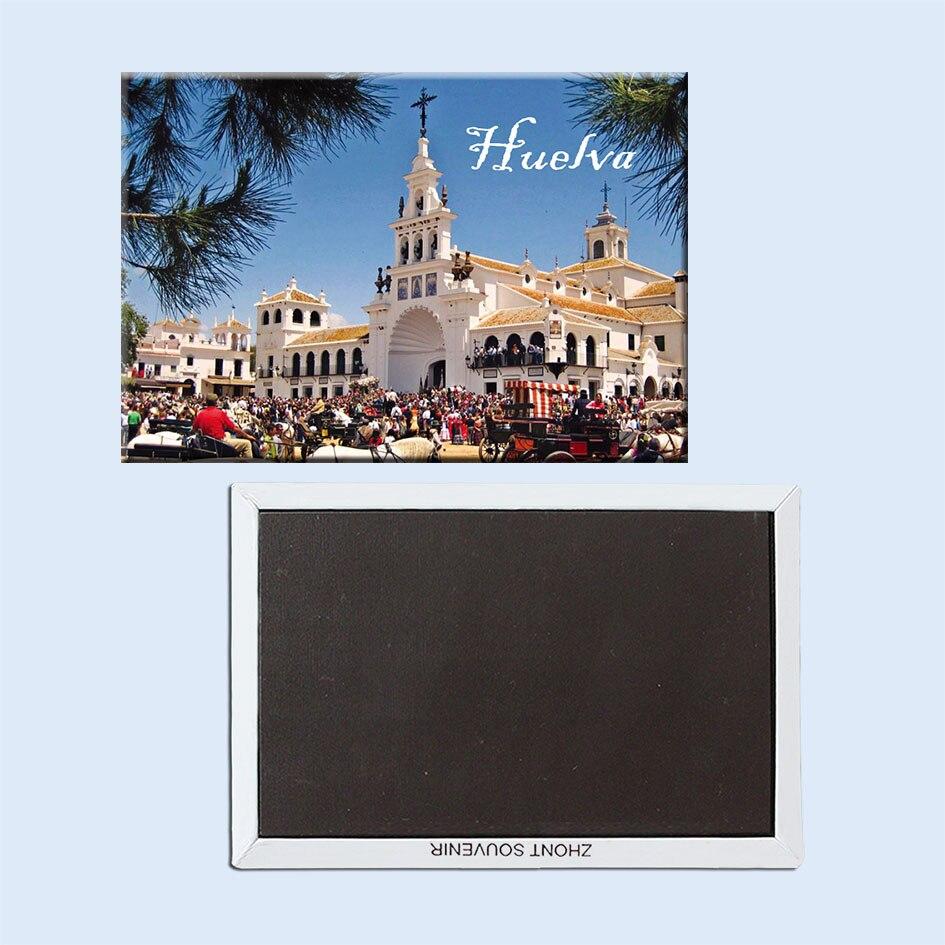 Imanes de nevera Huelva 21711 recuerdos de atracciones turísticos