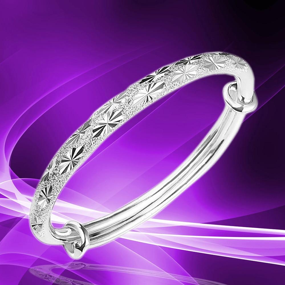 ¡Novedad de 2019! Pulseras con abalorios Pandora para mujer, pulsera ajustable de moda, joyería de plata, dije de mujer, brazalete, pulsera de regalo