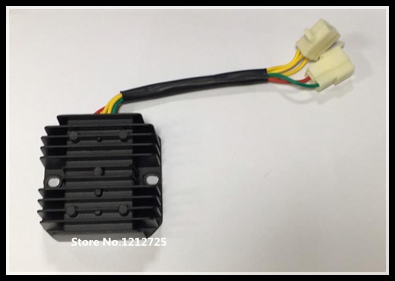 Motorcycle Regulator CH125 CF150 atv 152MI 157MJ 158MJ Charger regulator Silicon rectifier 5 line