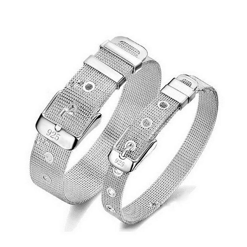 Charme Armband Armband Armbänder & Armreifen Für Frauen Silber farbe überzogen Schmuck Femme Bileklik Pulseira Feminina Pulseras