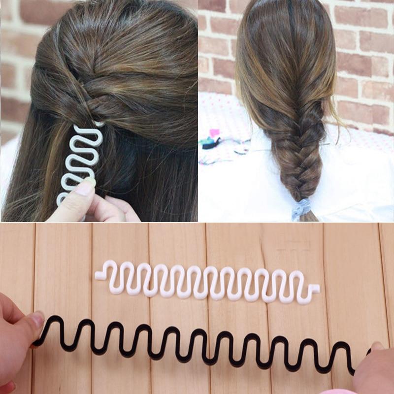 LNRRABC  Women Disk Device Hairpins Braider Roller Hair Braiding Tool Hair Clip Ladies Hair Band Acc