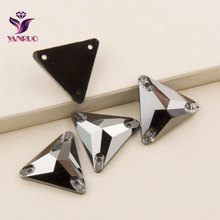 Triangle en Jet héatite 3270 16mm 22mm   Cristal à coudre sur cristaux, Strass Strass cristaux sur vêtements