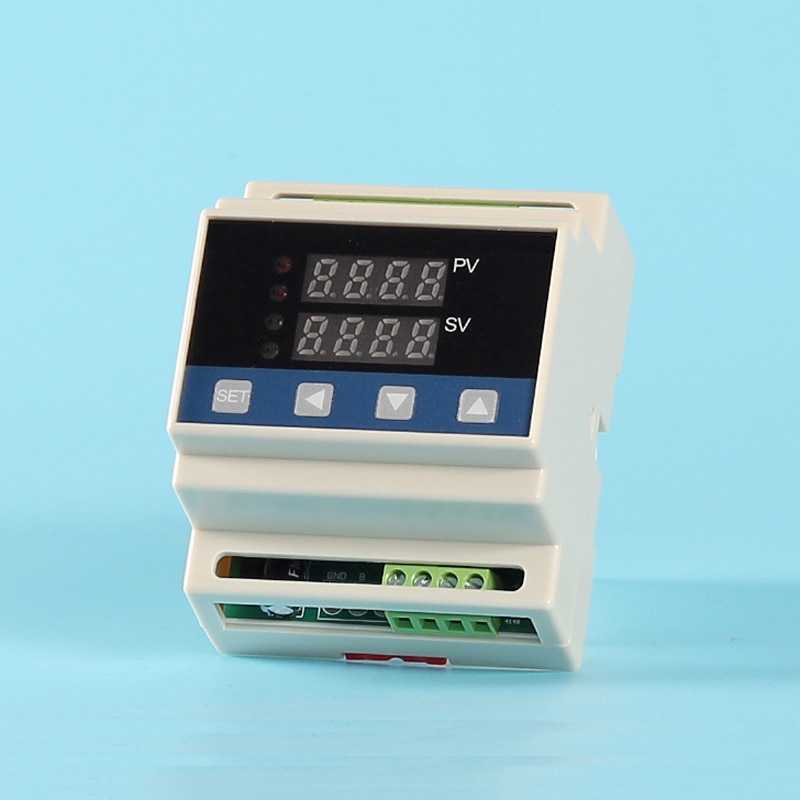 Termostato termorregulador Din Cu50 (-50,0 ~ 150,0 C)/PT100 (-199,9 ~ 600,0 C)/K (-30,0 ~ 1300C) con salida 4-20mADC