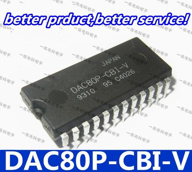 Frete grátis 10 pçs/lote DAC80P-CBI-V DAC80P-CBI DAC80P DAC80 DIP24 Goodquality