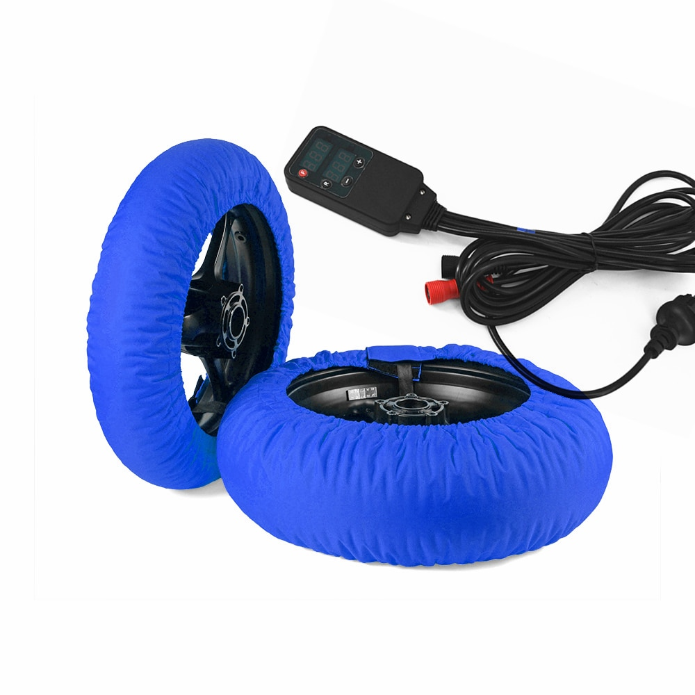 Conjunto de calentador de neumáticos para motocicleta BMW, Set de calentadores de...