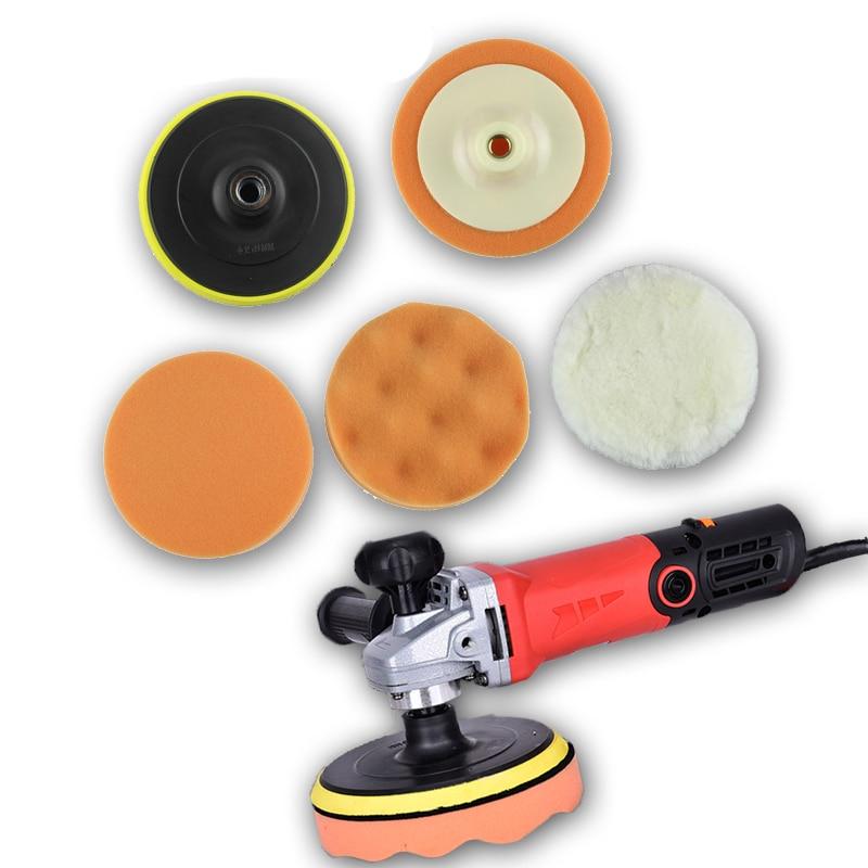 6 uds, Kit de pulido para lavado de coches, pulido y cera para Peugeot 206 307 407 308 208 3008 308 Toyota Corolla Rav4 Avensis Mini Cooper