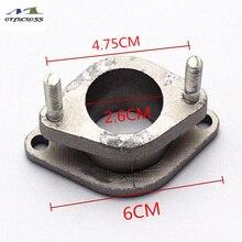 2PCS Motorrad Motor GN125 GS125 Motorrad Vergaser Interface Für Suzuki GN125 GS125 Teile