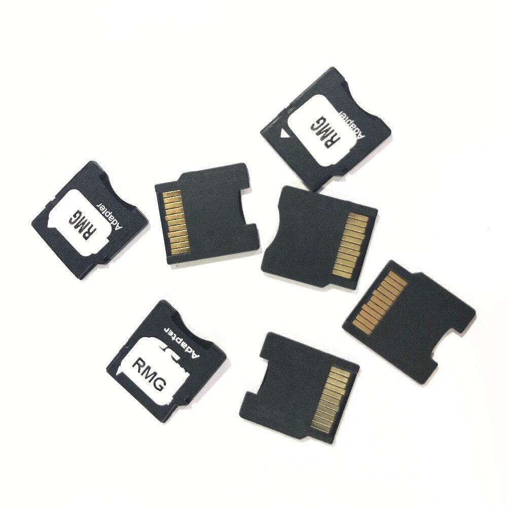 100 pçs/lote Cartão Micro SD para Mini Adaptador de Cartão SD Tf Para Adaptador Minisd Conversor Adaptador Mini Cartão SD