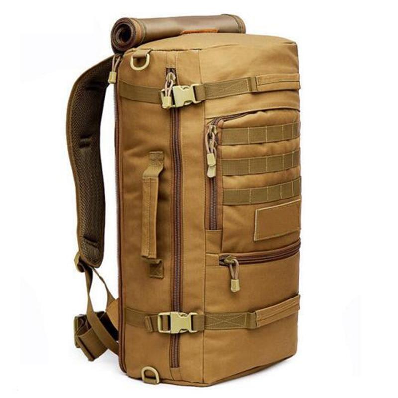 Популярный дорожный рюкзак армейский водонепроницаемый нейлоновый рюкзак 60л высококачественный рюкзак для ноутбука многофункциональные ...